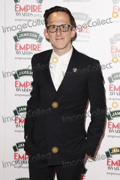 Adam Brown Photo - Adam Brownarives for the Empire Magazine Film Awards 2014 at the Grosvenor House Hotel London 30032014 Picture by Steve Vas  Featureflash