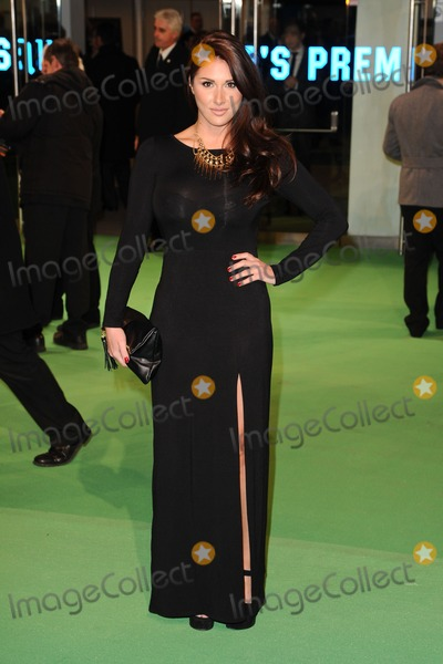 Lucy Pinder Photo - Lucy Pinder arriving for the premiere of The Hobbit An Unexpected Journey at the Odeon Leicester Square London 12122012 Picture by Steve Vas  Featureflash