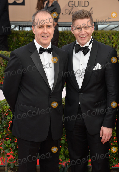 Allen Leech Photo - Actors Kevin Doyle  Allen Leech - Downton Abbey - at the 22nd Annual Screen Actors Guild Awards at the Shrine Auditorium January 30 2016  Los Angeles CAPicture Paul Smith  Featureflash