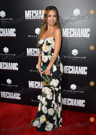 Jessica Alba Photo - LOS ANGELES CA August 22 2016 Actress Jessica Alba at the Los Angeles premiere of Mechanic Resurrection at the Arclight Theatre HollywoodPicture Paul Smith  Featureflash