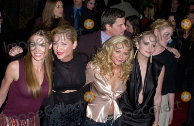 Jessica Cauffiel Photo - DENISE RICHARDS (left) JESSICA CAPSHAW JESSICA CAUFFIEL MARLEY SHELTON  KATHERINE HEIGL with actor DAVID BOREANAZ at the Hollywood premiere of their new movie Valentine01FEB2001   Paul SmithFeatureflash