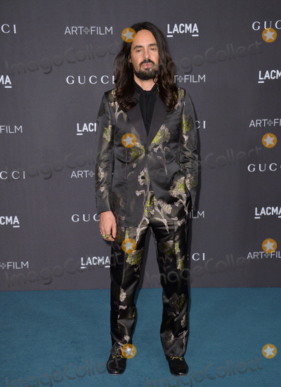 Alessandro Michele Photo - Alessandro Michele Gucci creative director at the 2015 LACMA ArtFilm Gala at the Los Angeles County Museum of ArtNovember 7 2015  Los Angeles CAPicture Paul Smith  Featureflash