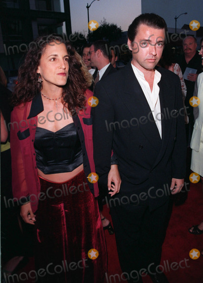 Dean Martin Photo - 18AUG98  Actor ANGUS MacFADYEN  girlfriend at the Beverly Hills premiere of HBOs The Rat Pack He plays Peter Lawford in the movie which is based on the lives of Frank Sinatra Dean Martin Peter Lawford  Joey Bishop