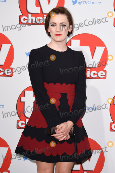 Charlotte Ritchie Photo - Charlotte Ritchie at the TV Choice Awards 2015 at the Hilton Hotel Park Lane LondonSeptember 7 2015  London UKPicture Steve Vas  Featureflash