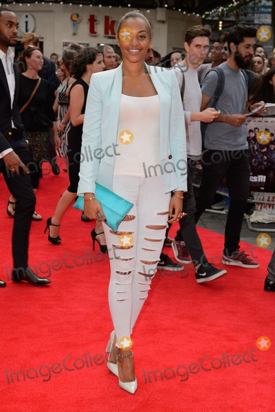Amal Fashanu Photo - Amal Fashanu arrives for the World premiere of The Expendables 3 at the Odeon Leicester Square London 04082014 Picture by Steve Vas  Featureflash