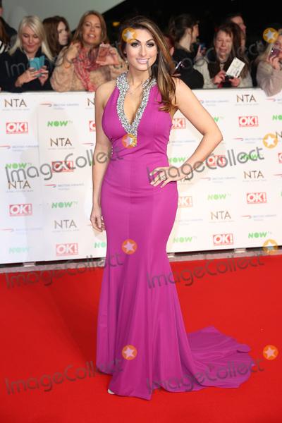 Luisa Zissman Photo - Luisa Zissman at The National Television Awards 2016 (NTAs) held at the O2 Arena London January 20 2016  London UKPicture James Smith  Featureflash