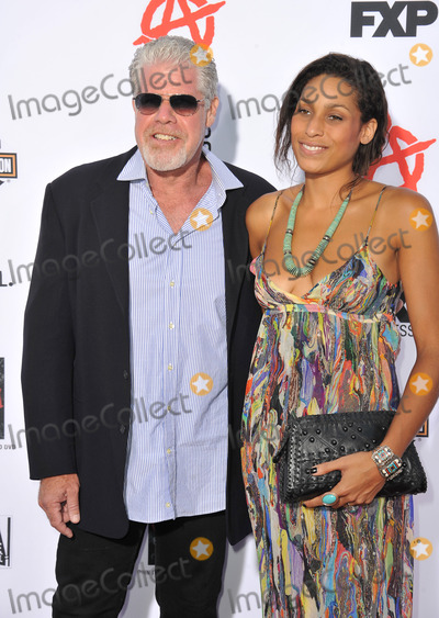 Blake Perlman Photo - Ron Perlman  daughter Blake Perlman at the season 6 premiere of Sons of Anarchy at the Dolby Theatre HollywoodSeptember 7 2013  Los Angeles CAPicture Paul Smith  Featureflash