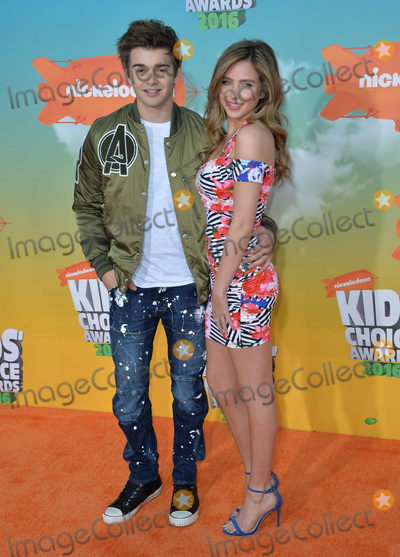 Jack Griffo Photo - Jack Griffo  Ryan Newman at the 2016 Kids Choice Awards at The Forum Los AngelesMarch 12 2016  Los Angeles CAPicture Paul Smith  Featureflash
