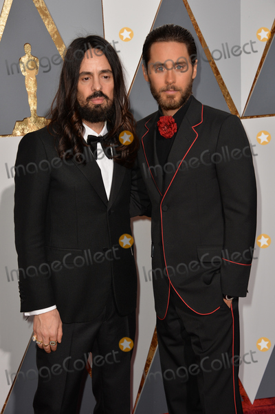 Jared Leto Photo - Actor Jared Leto  designer Alessandro Michele at the 88th Academy Awards at the Dolby Theatre HollywoodFebruary 28 2016  Los Angeles CAPicture Paul Smith  Featureflash