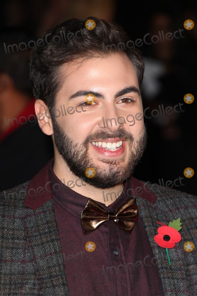 Andrea Faustini Photo - Andrea Faustini arriving for the Hunger Games Mockingjay Part 1 World Premiere at Odeon Leicester Square London 10112014 Picture by Alexandra Glen  Featureflash