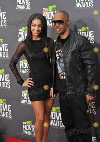 Jamie Foxx Photo - Jamie Foxx  daughter Corinne Bishop at the 2013 MTV Movie Awards at Sony Studios Culver CityApril 14 2013  Los Angeles CAPicture Paul Smith  Featureflash