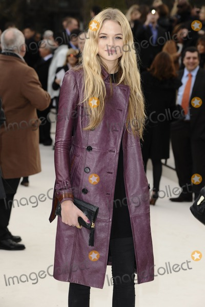 Gabriella Wilde Photo - Gabriella Wilde arriving for the Burberry Prorsum fashion show as part of London Fashion Week 2012 AW in Kensington Gardens London 20022012 Picture by Steve Vas  Featureflash