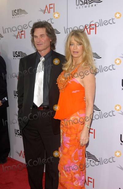 Goldie Hawn Photo - GOLDIE HAWN  KURT RUSSELL at the American Film Institute Life Achievement Award at the Kodak Theatre Hollywood honoring Meryl StreepJune 10 2004