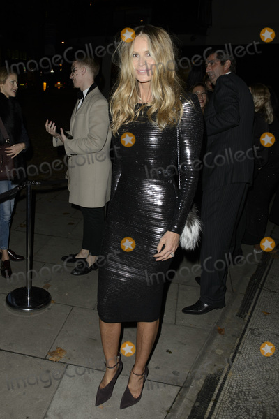 Elle Macpherson Photo - Elle MacPherson at the Veuve Clicquot Widow Series A Beautiful Darkness curated by Nick Knight and SHOWstudio October 28 2015  London UKPicture Dave Norton  Featureflash