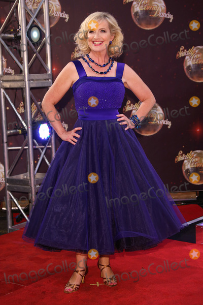 Carol Kirkwood Photo - Carol Kirkwood at the Strictly Come Dancing 2015 TV series launch at Elstree StudiosBorehamwood Herts September 1 2015  Borehamwood UKPicture James Smith  Featureflash