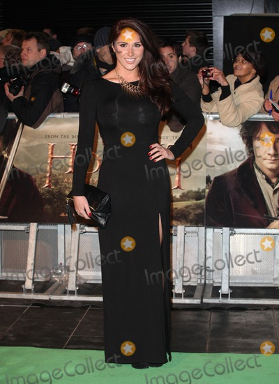 Lucy Pinder Photo - Lucy Pinder arriving for The hobbit Premiere Odeon Leicester Square London 12122012 Picture by Alexandra Glen  Featureflash