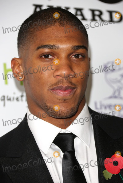 Anthony Joshua Photo - Anthony Joshua in the press room for The MOBO awards 2012 held at the Echo Arena Liverpool 03112012 Picture by Henry Harris  Featureflash