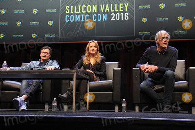 Lea Thompson Photo - Michael J Fox Lea Thompson Christopher Lloyd 03192016 Silicon Valley Comic Con 2016 held at the San Jose Convention Center in San Jose CA Photo by Kazuki Hirata  HollywoodNewsWirenet