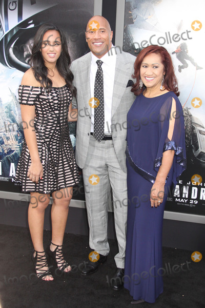 Ata Johnson Photo - Simone Alexandra Johnson Dwayne Johnson Ata Johnson 05262015 San Andreas Premiere held at the TCL Chinese Theatre in Hollywood CA Photo by Kazuki Hirata  HollywoodNewsWirenet