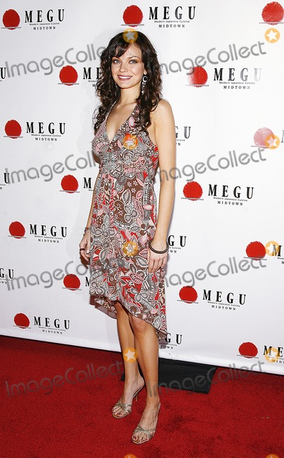 Sarah Mather Photo - Sarah Mather arrives to the grand opening of Megu Midtown at Trump World Towers on April 19 2006 in New York City