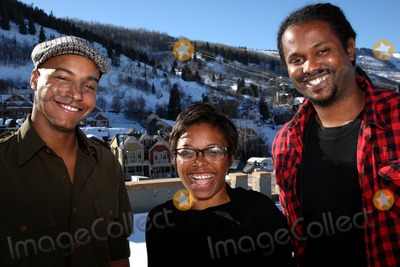 Aaliyah Photo - (L-R) Actor Vaughn Lowery producer Aaliyah Willams and director Julian Breece pictured during their portrait session at the 2009 Sundance Film Festival on January 16 2009 in Park City Utah