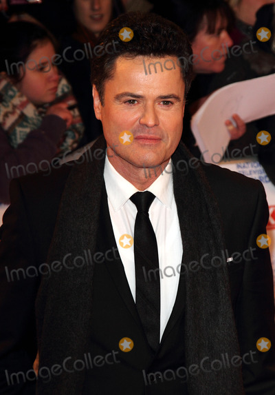 Donny Osmond Photo - London UK Donny Osmond at the National Television Awards at the O2 Arena 23rd January 2013Keith MayhewLandmark Media