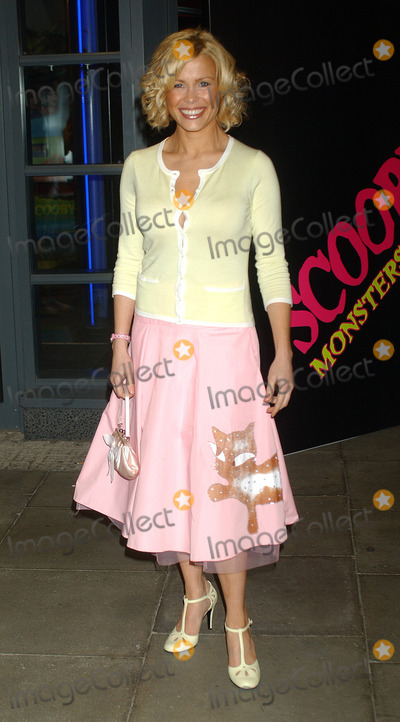 Scooby-Doo Photo - London Model turned TV presenter Melinda Messenger   at the London premiere of her film Scooby-Doo 2 Monsters Unleashed  26th March 2004 PICTURES BY RAOUL TREZARILANDMARK MEDIA LMK
