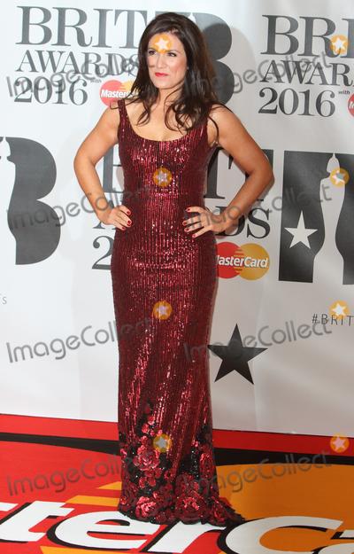 Susanna Reid Photo - London UK Susanna Reid at BRIT Awards 2016 Red Carpet Arrivals at the O2 Arena London on February 24th 2016Ref LMK73-60035-250216Keith MayhewLandmark Media WWWLMKMEDIACOM