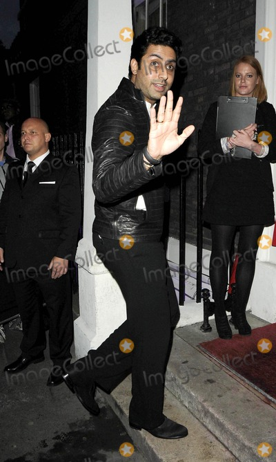 Abhishek Bachchan Photo - London UK Abhishek Bachchan at the Omega House - Swimmers Night themed party House of St Barnabas Greek St 7th August 2012Can NguyenLandmark Media