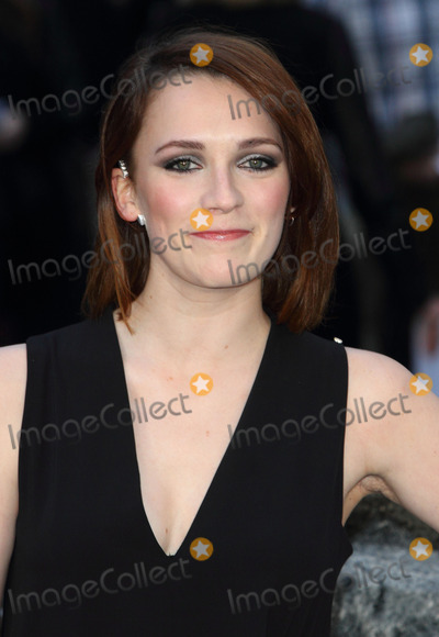 Charlotte Ritchie Photo - London UK Charlotte Ritchie at the UK Premiere of Noah at the Odeon Leicester Square London on March 31st 2014 Ref LMK73-48028-010414Keith MayhewLandmark Media WWWLMKMEDIACOM