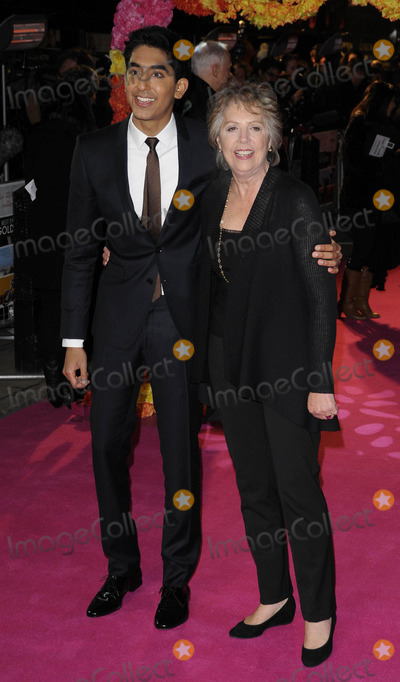 Dev Patel Photo - London UK Dev Patel and Penelope Wilton at The Best Exotic Marigold Hotel world premiere held at the Curzon Mayfair cinema 7th February 2012Can NguyenLandmark Media