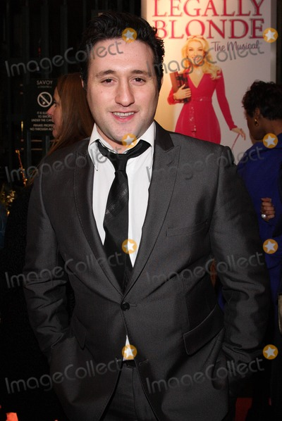 Anthony Costa Photo - London UK Anthony Costa   at the Gala Performance of the musical Legally Blonde  at the Savoy Theatre The Strand London  13th  January 2010 Keith MayhewLandmark Media