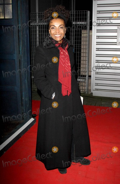 Adjoa Andoh Photo - London UK Adjoa Andoh at the Gala Screening of the Dr Who Christmas Special Voyage of the Damned at the Science Museum London18 December 2007Keith MayhewLandmark Media