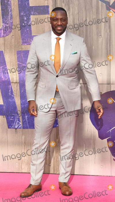 Adewale Akinnuoye-Agbaje Photo - London UK Adewale Akinnuoye-Agbaje at the European Premiere of Suicide Squad at the Odeon Leicester Square London on August 3rd 2016Ref LMK392-60941-040816Vivienne VincentLandmark MediaWWWLMKMEDIACOM