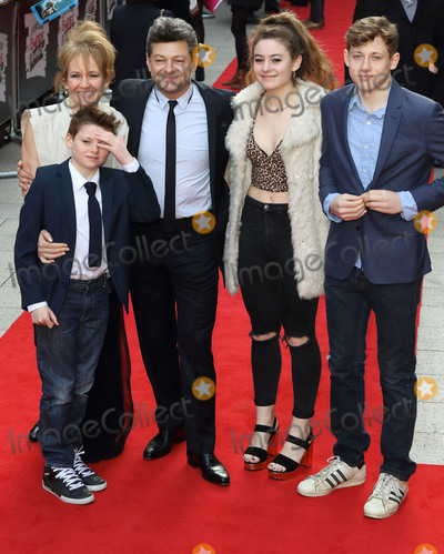 Andy Serkis Photo - London UK Andy Serkis and Family at  the 21st Jameson Empire Awards 2016 Grosvenor House Hotel Park Lane London UK on Sunday 20 March 2016Ref LMK73-60099-210316Keith MayhewLandmark Media WWWLMKMEDIACOM