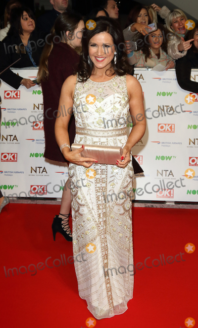 Susanna Reid Photo - LondonUK Susanna Reid  at the National Television Awards 2016 Red Carpet arrivals at the O2 London 20th January 2016 RefLMK73-59159-210116 Keith MayhewLandmark Media  WWWLMKMEDIACOM