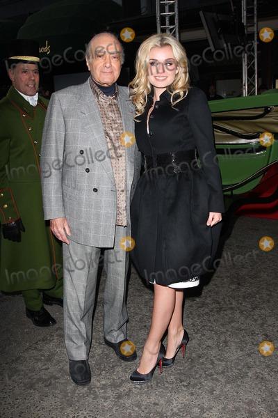 Katherine Jenkins Photo - LondonUK  Classical Welsh born singer Katherine Jenkins with Mohamed Al-Fayed as she  launches the Harrods Winter Sale   27th December 2008Jo RedLandmark Media