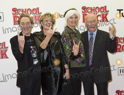 Andrew Lloyd Webber Photo - London UK Andrew Lloyd Webber Madeline Lloyd Webber Emma Kitchener and Julian Fellowes  at the opening Night of School Of Rock The Musical at The New London Theatre Drury Lane  in London England on November 14 2016Ref LMK386-61277-151116Gary MitchellLandmark MediaWWWLMKMEDIACOM