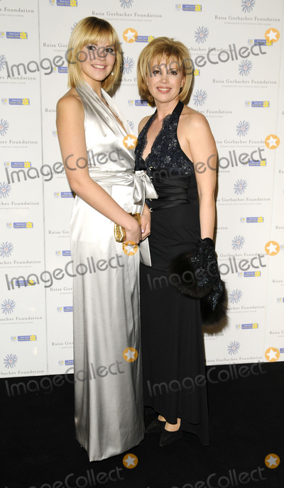 ANASTASIA BIRGANSKAYA Photo - London UK Anastasia Birganskaya and Xenia Gorbachev at the Raisa Gorbachev Foundations 3rd Annual Gala Dinner at the Stud House Hampton Court Palace07 June 2008      Can NguyenLandmark Media