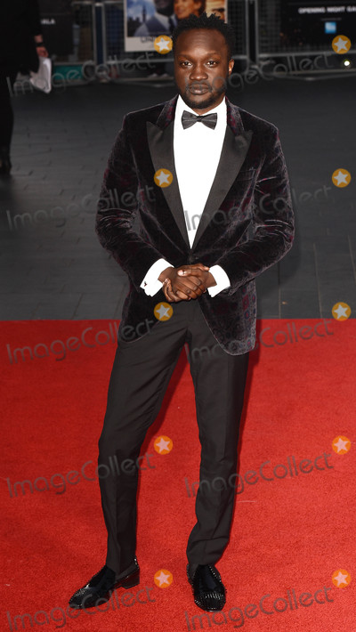 Arnold Oceng Photo - London UK Arnold Oceng  at the Premiere of A United Kingdom  - the Opening Gala of the 60th BFI London Film Festival at Odeon Leicester Square London on Wednesday 5 October 2016 Ref LMK392 -61093-061016Vivienne VincentLandmark Media WWWLMKMEDIACOM
