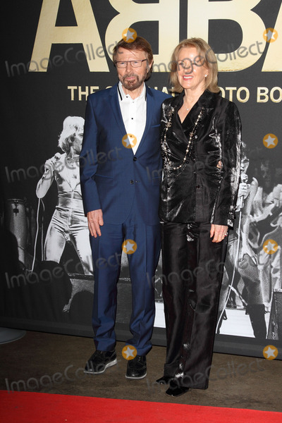 Annifrid Lyngstad Photo - London UK Bjrn Ulvaeus and Anni-Frid Lyngstad at ABBA  The International Anniversary Party marking the 40th Anniversary of their Eurovision Victory and the launch of ABBA  The Official Photo Book at the Tate Modern London on April 7th 2014Ref LMK73-48091-080414Keith MayhewLandmark Media WWWLMKMEDIACOM