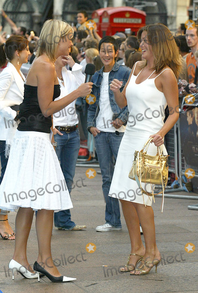Rebecca Loos Photo - London Rebecca Loos and Jenni Falconer at the European Premiere of The Island at the Odeon Leicester Square07 August 2005Jenny RobertsLandmark Media
