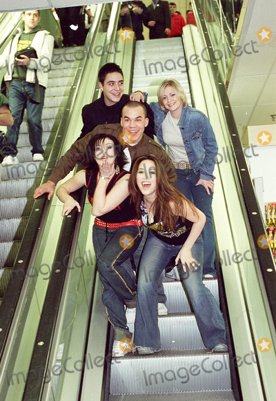 Kym Marsh Photo - 2001 HearSay (British Pop Group) Danny Foster Myleene Klass Kym Marsh Suzanne Shaw and Noel Sullivan at WH Smith to promote their dollsPhotos by ANDY LOMAXLandmark Media