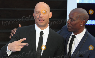 Tyrese Photo - London UK    Vin Diesel and Tyrese Gibson    at the  World Premiere of  Fast and Furious 6  at the Empire Cinema Leicester Square London 7th May 2013Keith MayhewLandmark Media