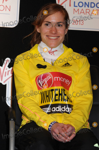 Amy Whitehead Photo - London UK  Amy Whitehead at the  2013 London Marathon Press Conference  Tower Hotel 18th April 2013Matt LewisLandmark Media