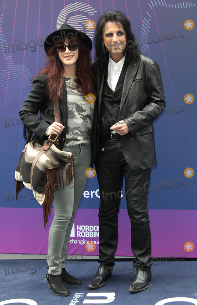 Alice Cooper Photo - London UK Alice Cooper  and guest  at the Nordoff Robbins O2 Silver Clef Awards at Grosvenor House Park Lane London on Friday 30 June 2017Ref LMK73-S431-020717Keith MayhewLandmark Media WWWLMKMEDIACOM