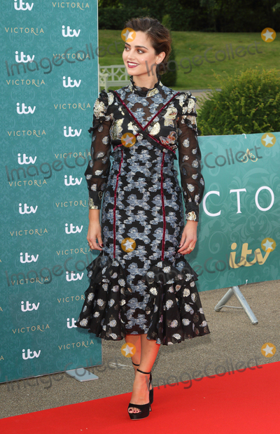 Jenna Coleman Photo - London UK  Jenna Coleman  at the World Premiere of the new ITV series Victoria (about the early years of the life Queen Victoria)at Kensington Palace London 11th August 2016 Ref LMK73-61281-120816Keith MayhewLandmark MediaWWWLMKMEDIACOM