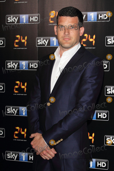 Adam Sinclair Photo - London UK Adam Sinclair at UK premiere of 24 Live Another Day at Old Billingsgate London on May 6th 2014 Ref LMK73-48388-070514Keith MayhewLandmark Media WWWLMKMEDIACOM