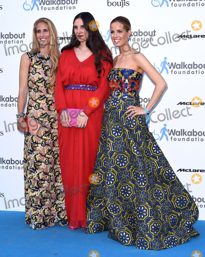 Adriana Chryssicopoulos Photo - LondonUK Adriana Chryssicopoulos Tatiana Casiraghi  Carolina Gonzalez Bunster  at the Walkabout Foundations Inaugural Gala at the Natural History Museum Cromwell Rd London  on Saturday 27 June 2015Ref LMK392 -51471-290615Vivienne VincentLandmark Media WWWLMKMEDIACOM
