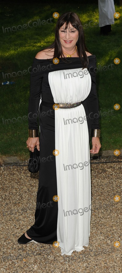 Angelica Huston Photo - London UK  Angelica  Huston  at the Raisa Gorbachev Foundation Gala at Stud House Hampton Court London  5th June 2010    SYDLandmark Media
